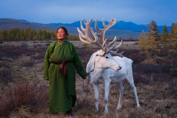 The Tsaatan people, Mongolia, photography series by Madoka Ikegami, reindeer herders