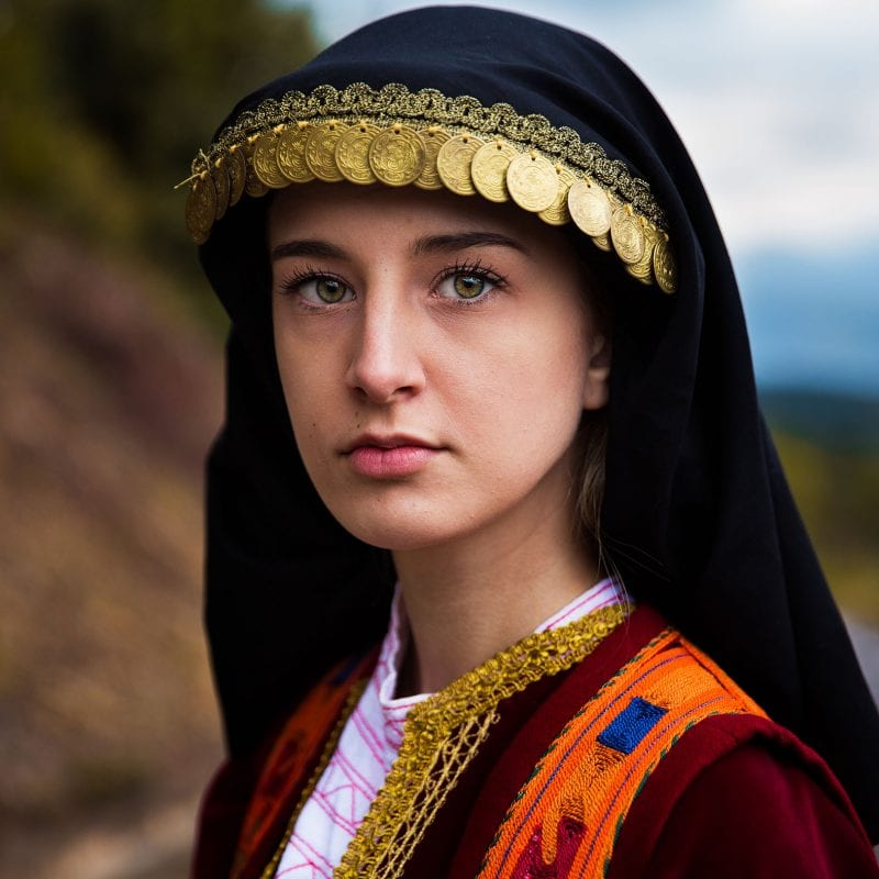 greece woman portrait photography in color by mihaela noroc, the atlas of beauty series