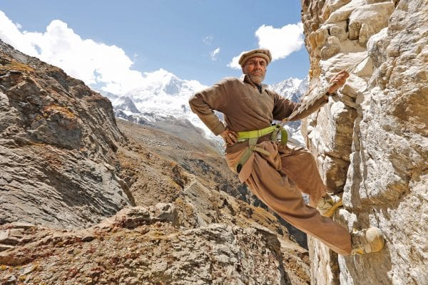climber documentary photography in color by Hugh Brown