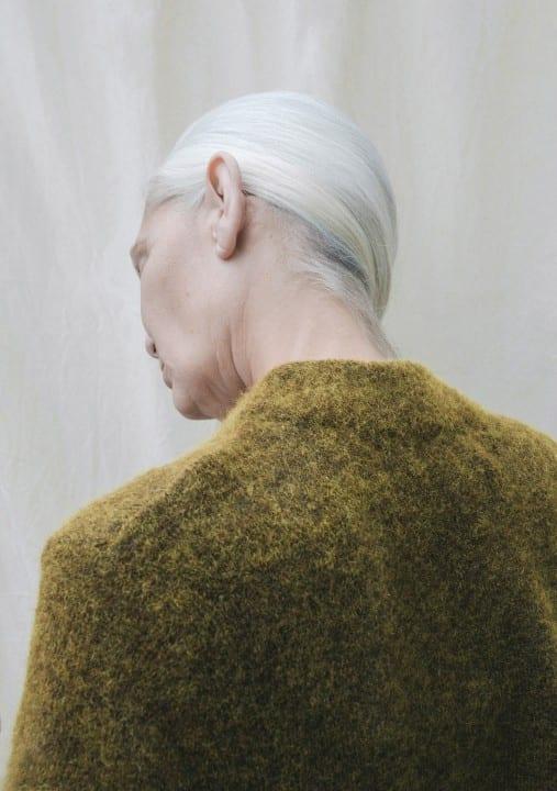 Farbportrait von Olga Urbanek, 'Sigga'