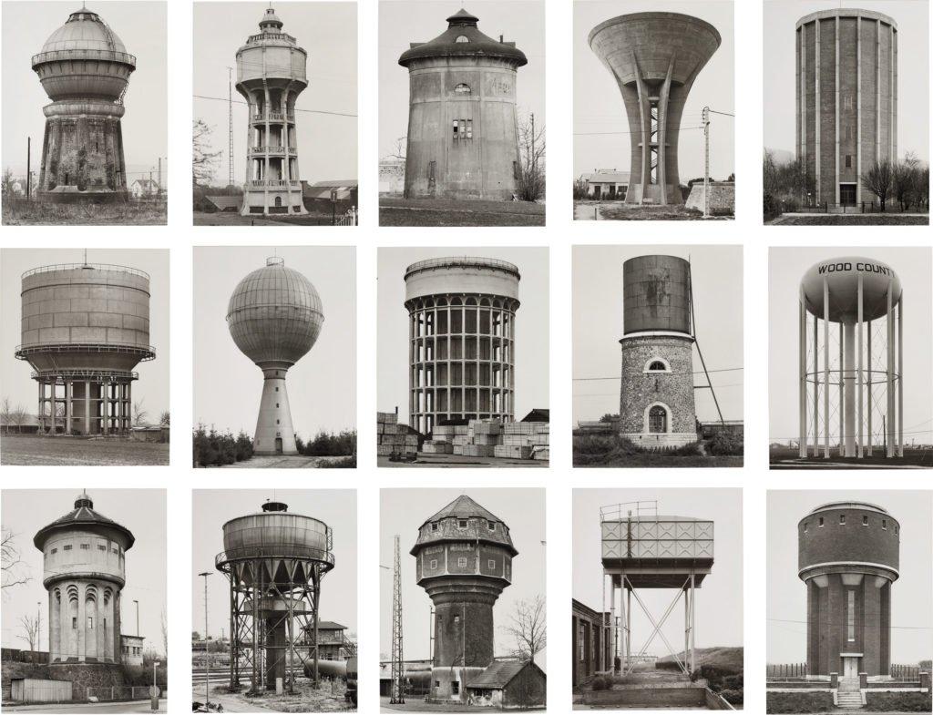 Bernd & Hilla Becher - Wasserturm, 1965-1997 Deutschland