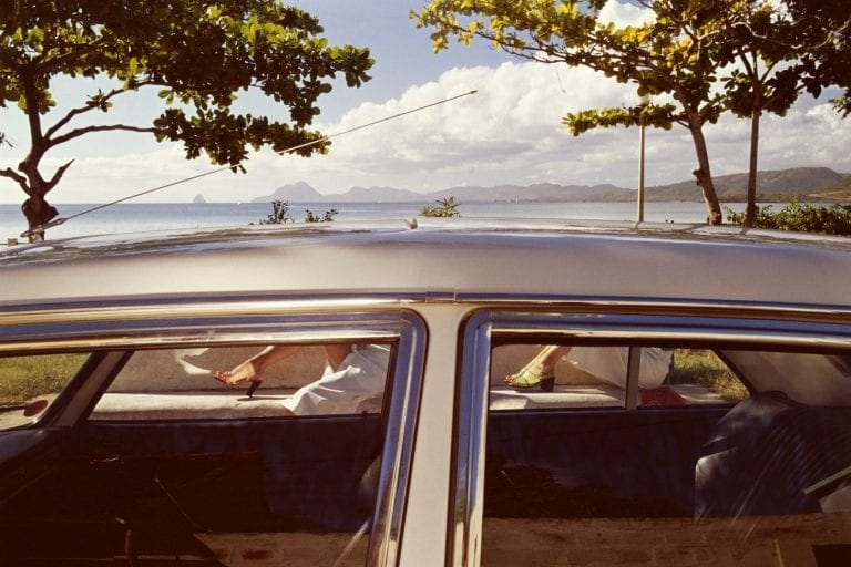 Guy Bourdin Charles Jourdan, April, 1974 Color photography