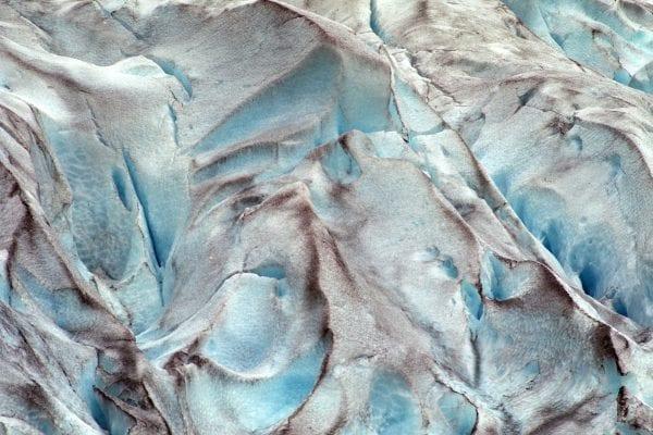 Eis und Schnee, Farbfotografie, Landschaft