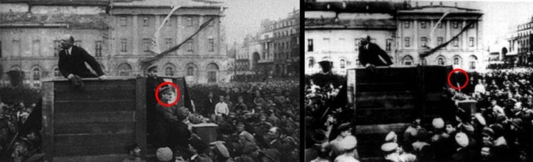 Rusia fotógrafo desconocido La revolución bolchevique, 1917