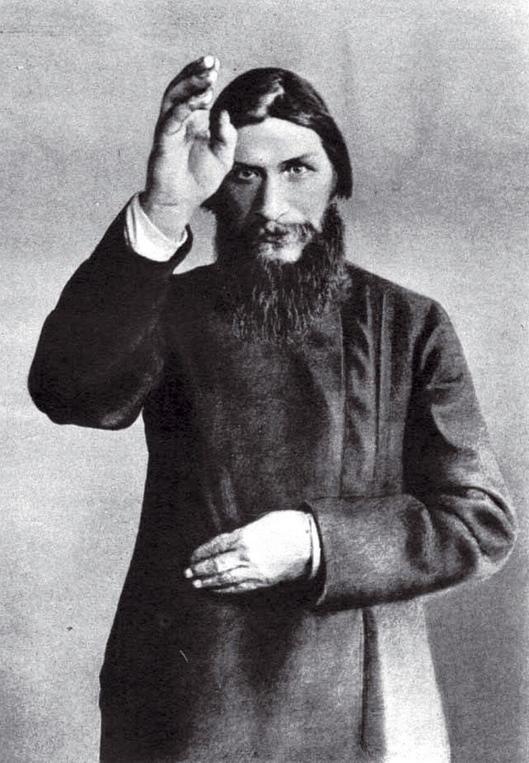 Rusia fotógrafo desconocido - Grigori Yefimovich Rasputin