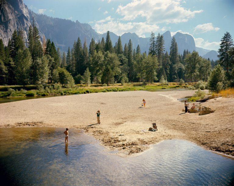 Landschaftsfotografie-Schwimmer im Yosemite-Nationalpark, Kalifornien, USA Stephen Shore