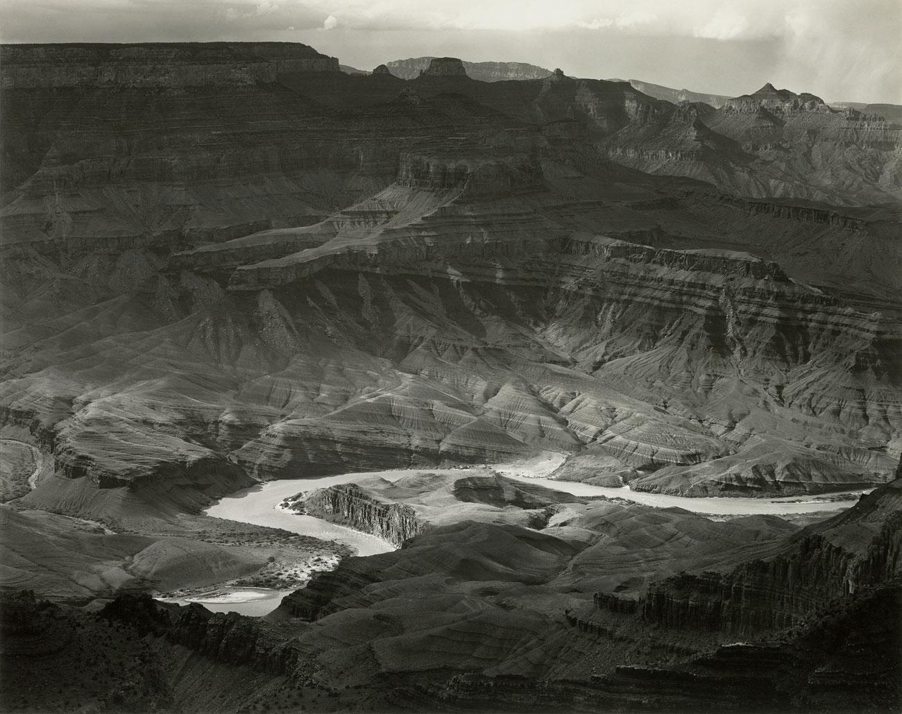 Grand Canyon, Arizona, 1941 © Edward Weston Geschichte der Landschaftsfotografie