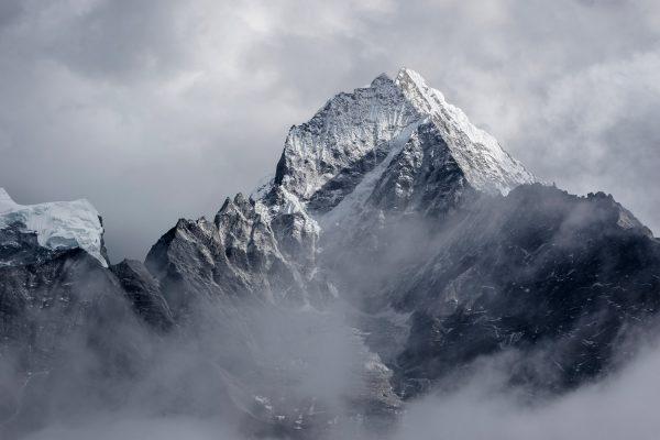 Landschaftsfotografie, Berg mit Schnee