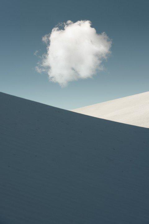 Landschaftsfotografie, Wolken und Dünen