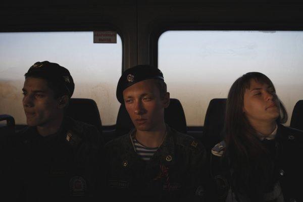Schüler der General Ermolov Cadet School Stavropol Russia Dokumentarfotografie von Eduard Korniyenko