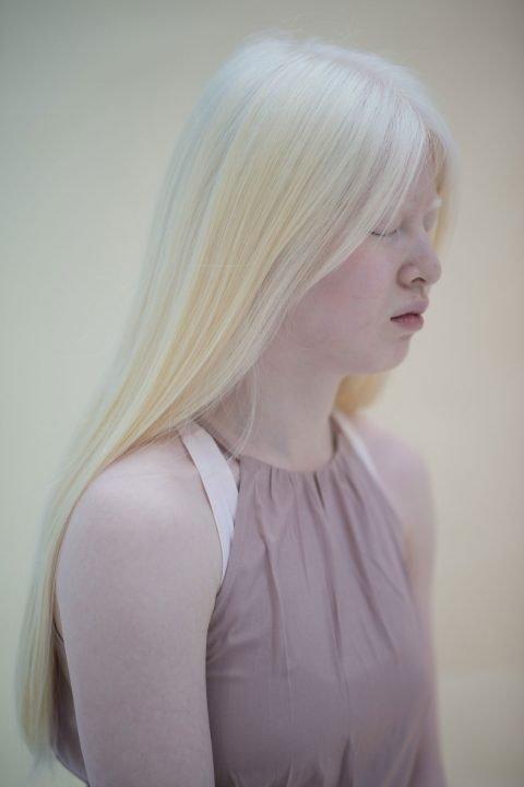 Blonde Frau Foto von Steve Dean Mendes
