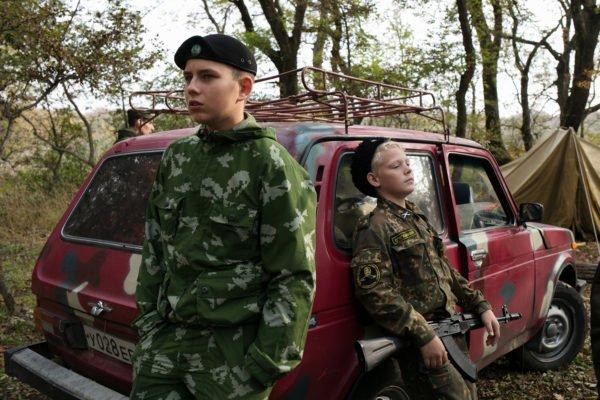 Students from the General Ermolov Cadet School Stavropol Russia documentary photography by Eduard Korniyenko