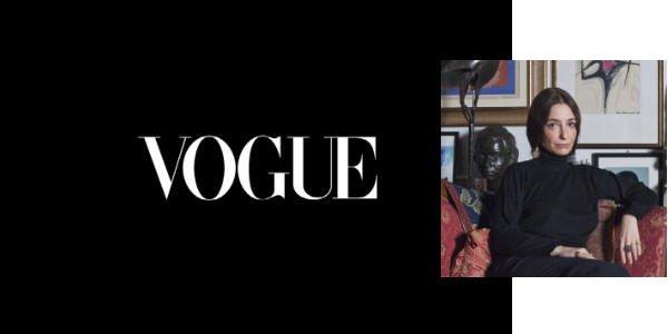 Imagen de perfil de la jueza Alessia Glaviano Vogue Logotipos