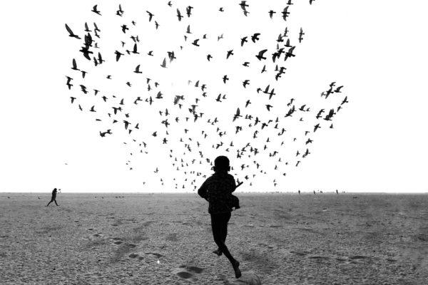 Fotografia in bianco e nero di Dimpy Bhalotia