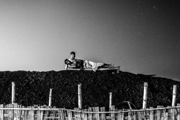 Schwarz-Weiß-Fotografie von Mushfiqur Rahman
