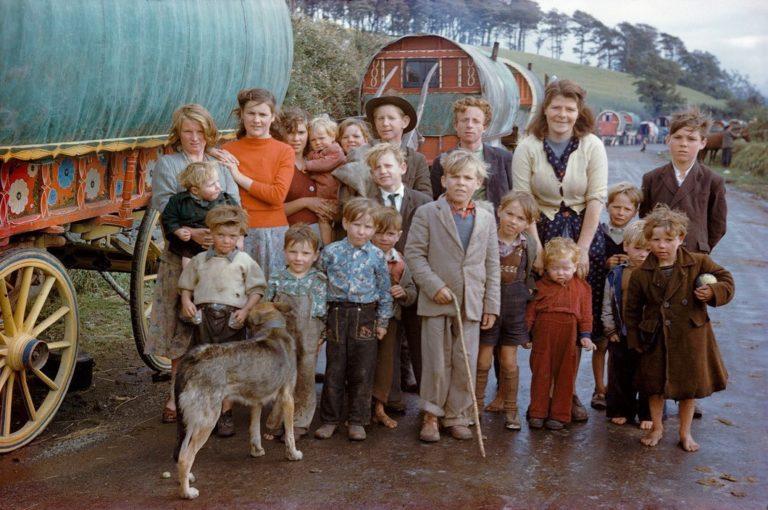 Irlande - Inge Morath - Gypsy Family, Killorglin, 1954