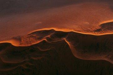 Sand Dunes, Color Photography by Tom Hegen