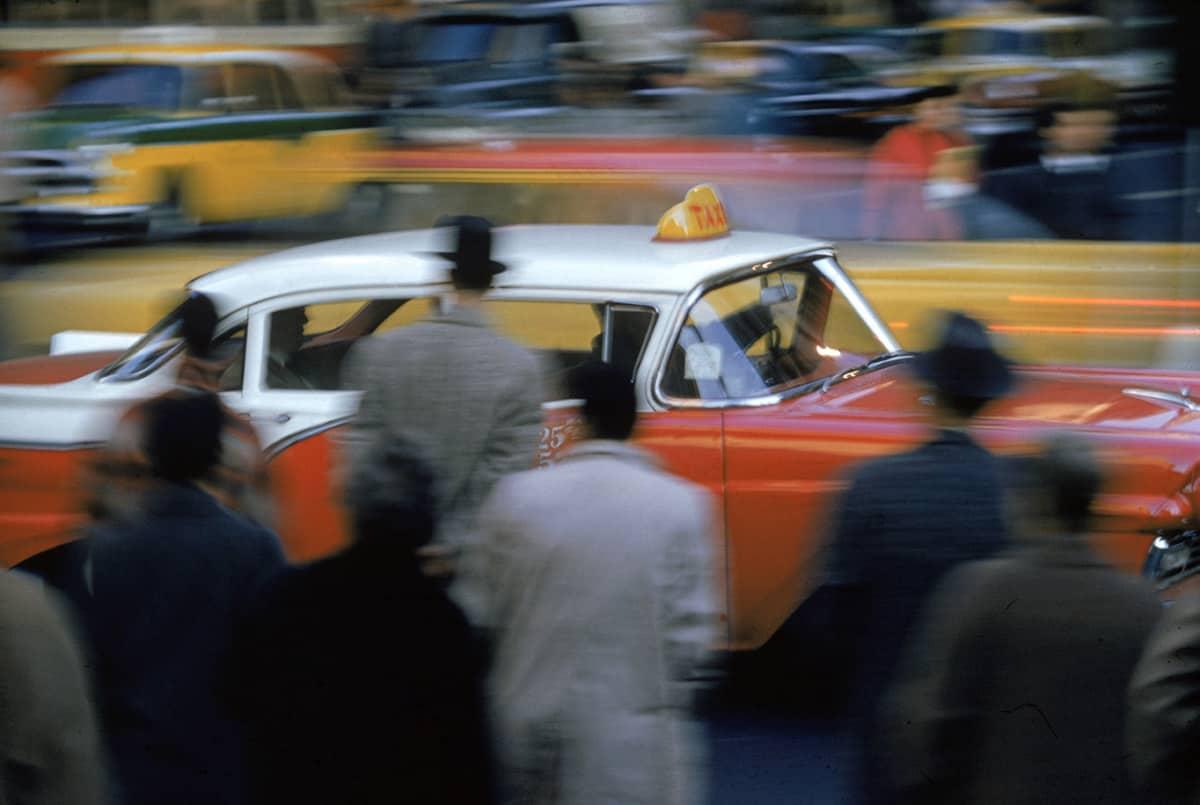 New York, 1952 Foto von Ernst Haas © Nachlass von Ernst Haas.