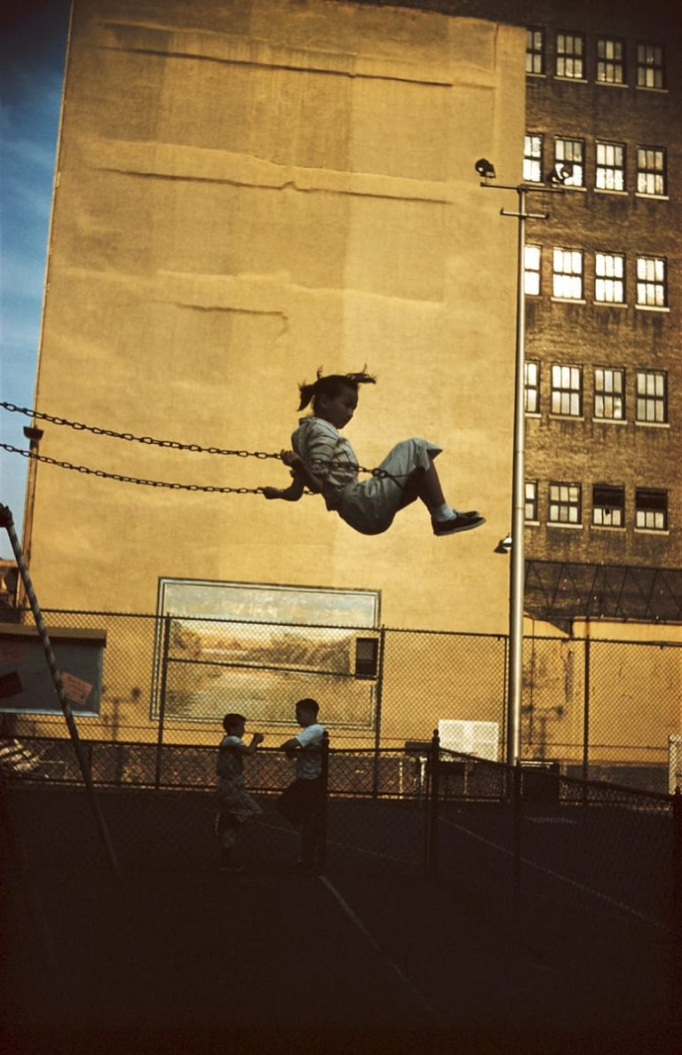New York, 1952 photographie d'Ernst Haas © Estate of Ernst Haas
