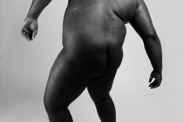 Black & white fotografia, ritratto, studio, corpo, uomo
