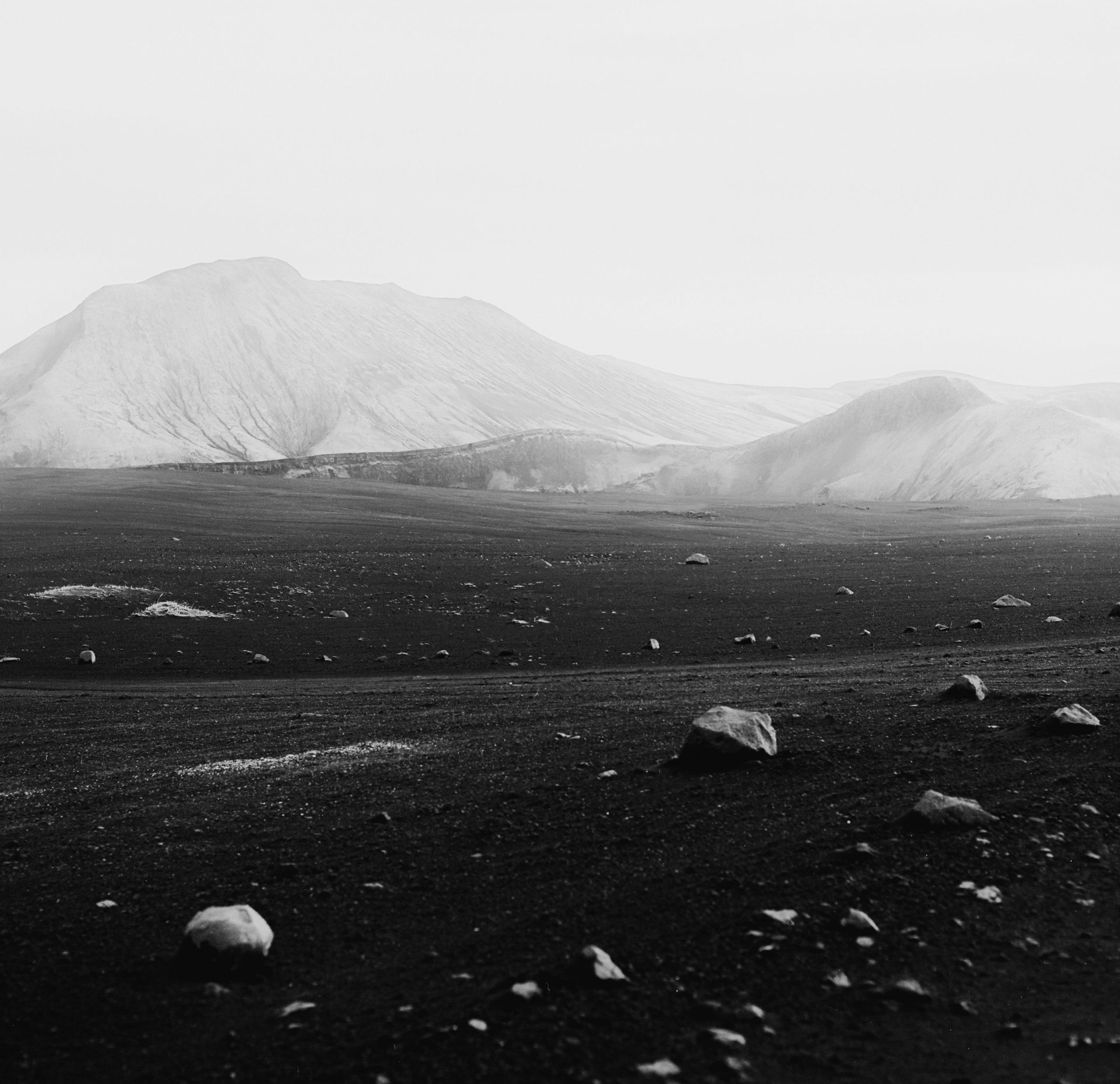 Black & white fotografia, paesaggio, medio formato, Islanda