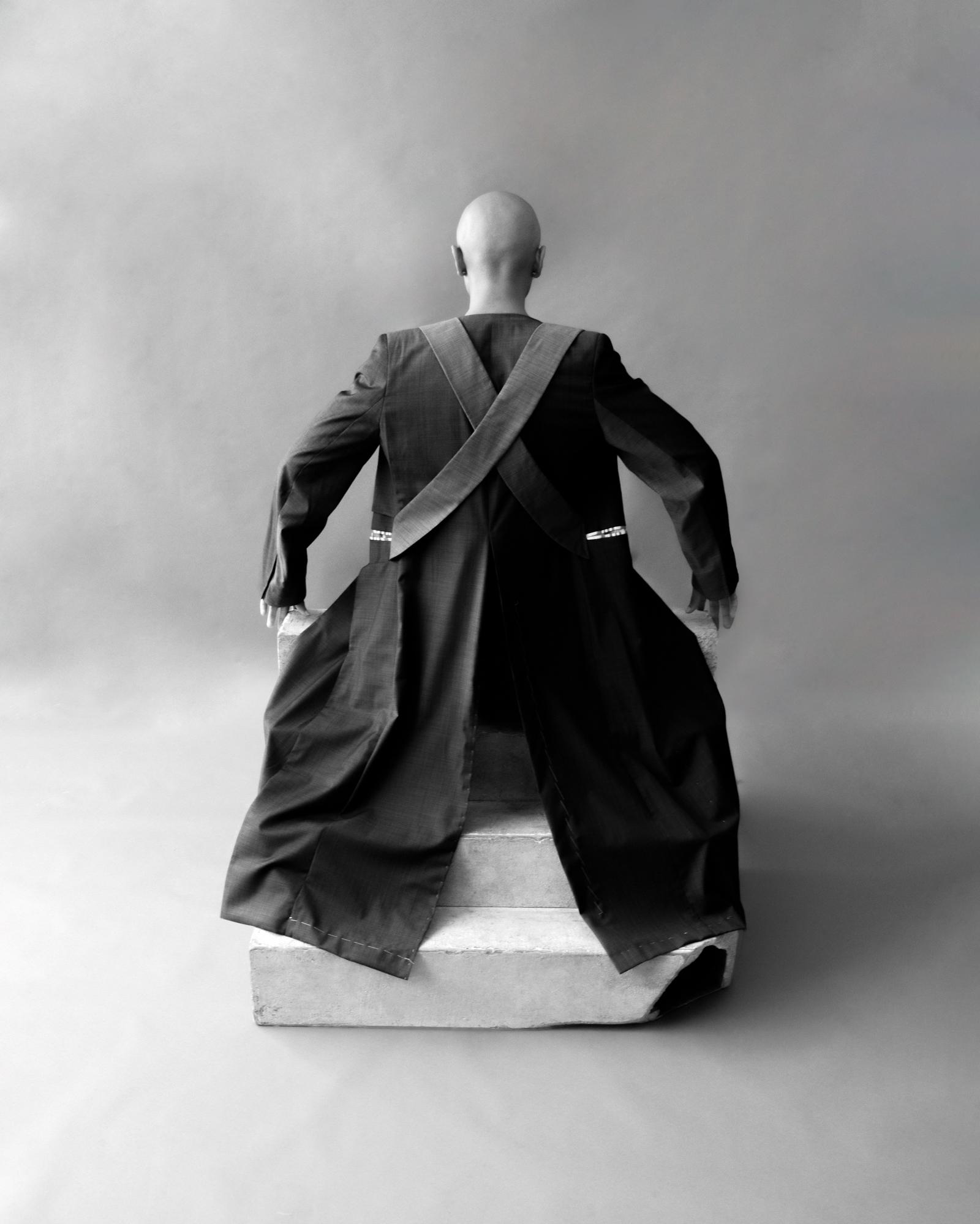 Black & white fotografia, ritratto, studio, corpo, uomo, moda, NYC, USA