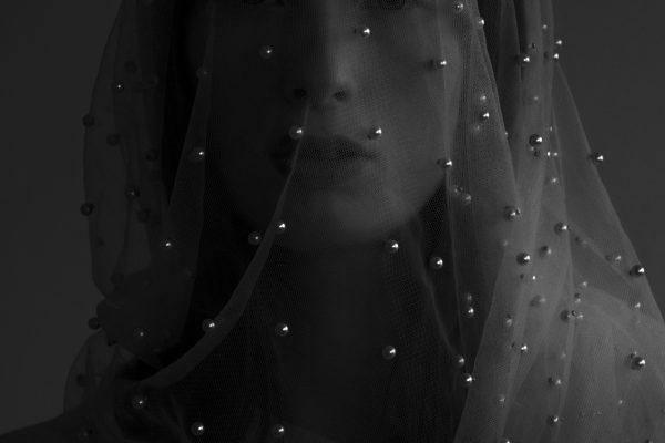 Black & white fotografia, ritratto, studio, corpo, donna