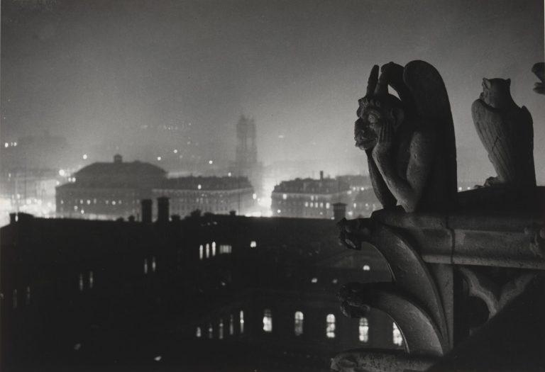 布拉赛 - 巴黎圣母院,1932 年,胶片摄影,黑白