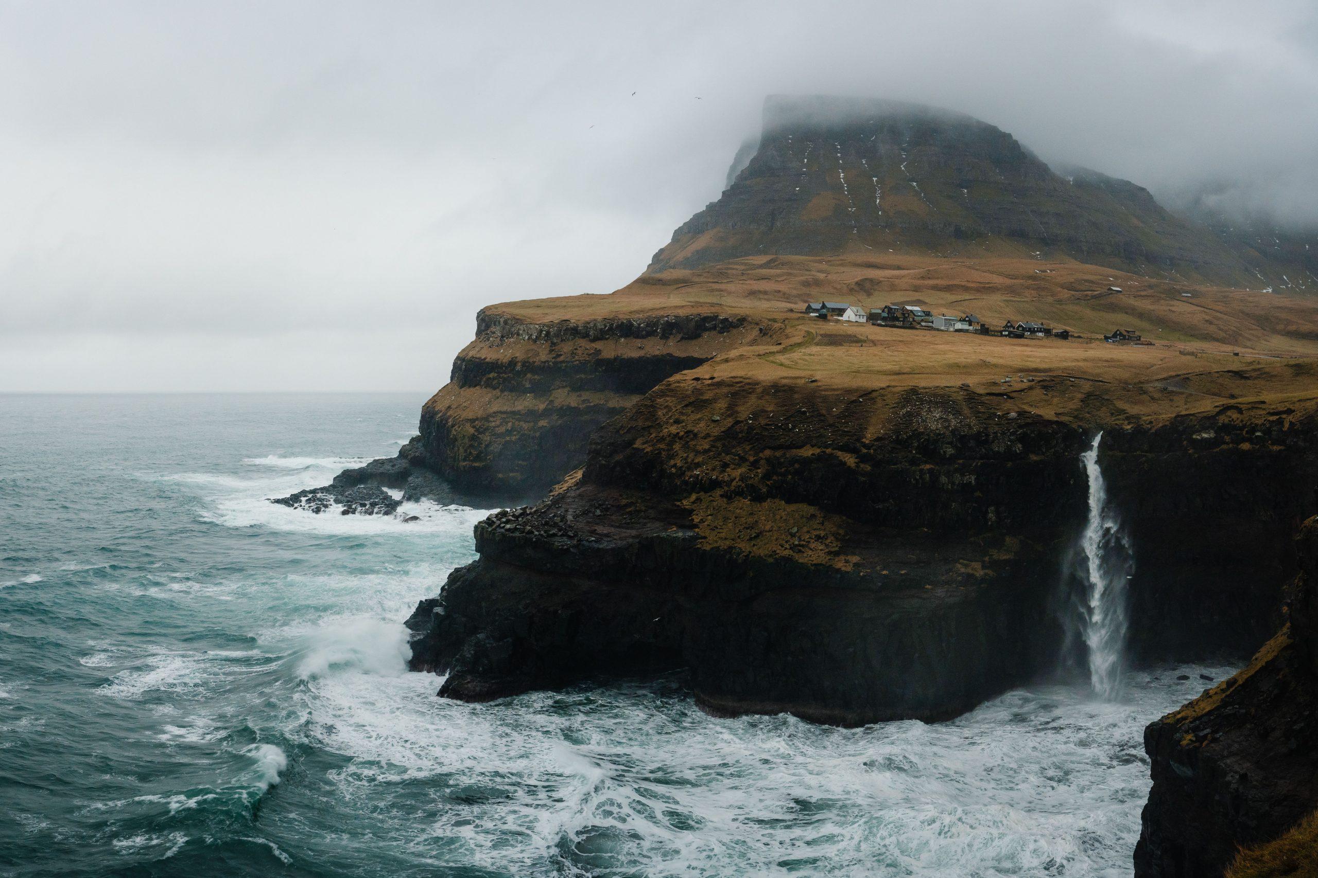 康拉德·戈洛瓦克(Conrad Golovac)的法罗群岛的风景彩色照片