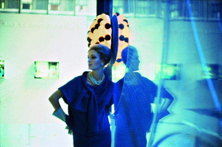 Fotografía en color de Bruce Davidson, Moda, Mujer, Vogue, 60s