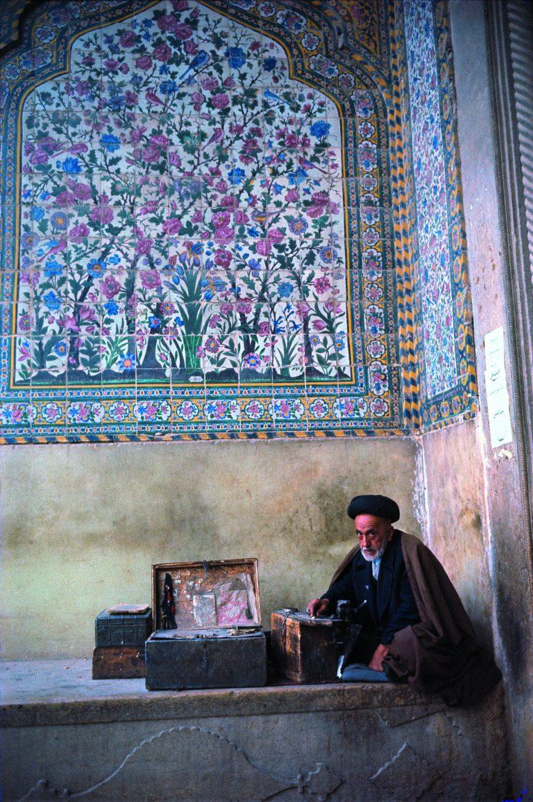 Fotografía en color de Bruce Davidson, Irán, 1964