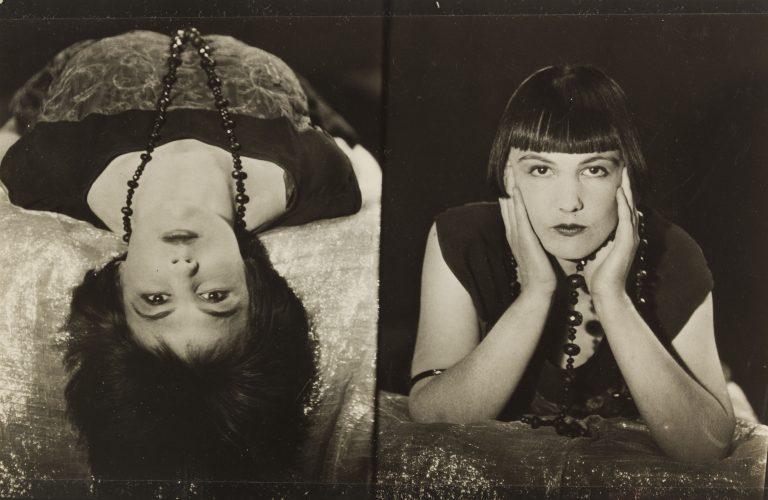 柯蒂斯·莫法特 (Curtis Moffat) 的黑白肖像,格雷维尔女士,女性,约 1925-30 年