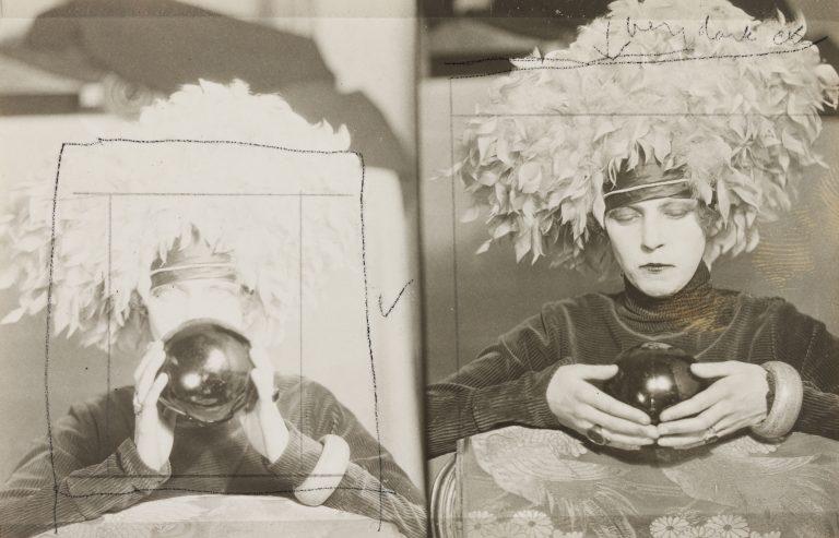 柯蒂斯·莫法特的黑白肖像,南希·丘纳德肖像,c. 1925年