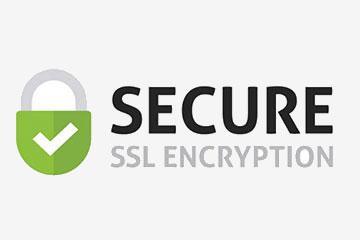 SSL-Verschlüsselungslogo - Seite senden Sub
